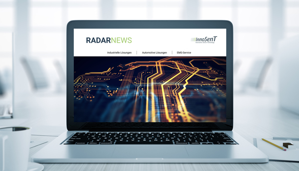 Radarsensor für industrie und automotive